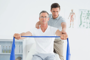 Prescribed shoulder exercises assist rehabilitation